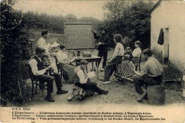 Cours d'esperanto à L'Expérience