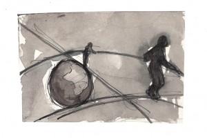 Soirée mayaque, 2, 100 Papiers dans Alice Bossut equilibriste-blog-300x200