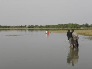 Villages en savane dans Afrique tournage-300x224
